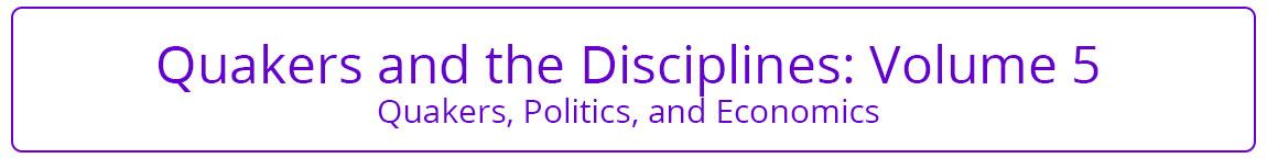 Quakers and the Disciplines Volume 5